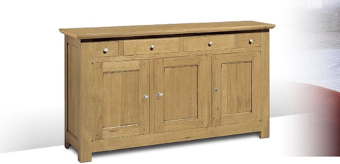 Harbour Contemporary Sideboard With 3 Doors 4 Drawers