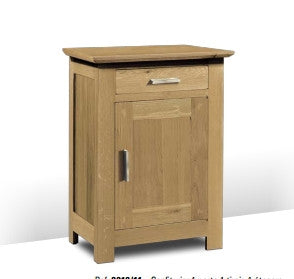Harbour - Contemporary Sideboard With 1 Door 1 Cupboard