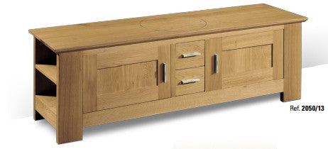 Tuscany - Contemporary TV Cabinet With 2 Doors 2 Drawers