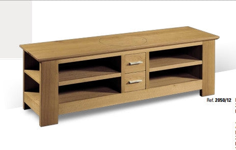Tuscany - Contemporary TV Cabinet With 2 CD Drawers