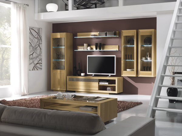 Tuscany Contemporary Sienna Widescreen TV Unit