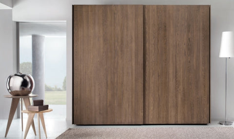 Tuscany Contemporary Wardrobe With 2 x Sliding Doors