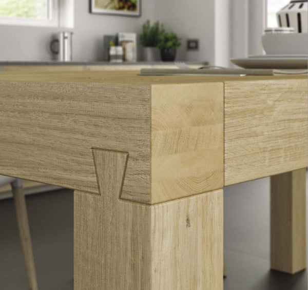 Tuscany Contemporary Fixed Top Terra Dining Table