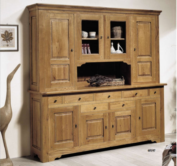 Harbour - Solid Oak 4 Door Dresser