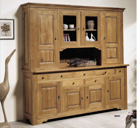 Tuscany - Solid Oak 4 Door Dresser