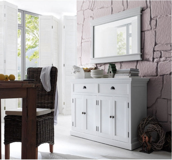 Large white painted Sideboard
