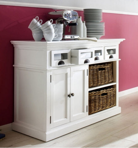 Storage painted sideboard