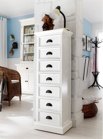 Painted Wellington Chest Of Drawers