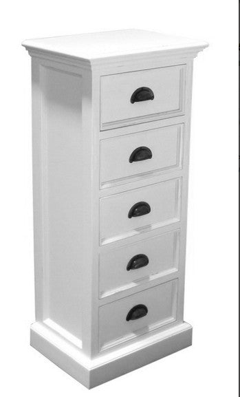 Whitstable Painted - 5 Drawer Wellington Chest