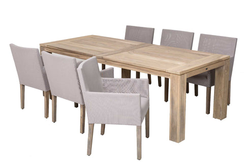Outdoor Dining Furniture - Cannes Table and Capri Chairs