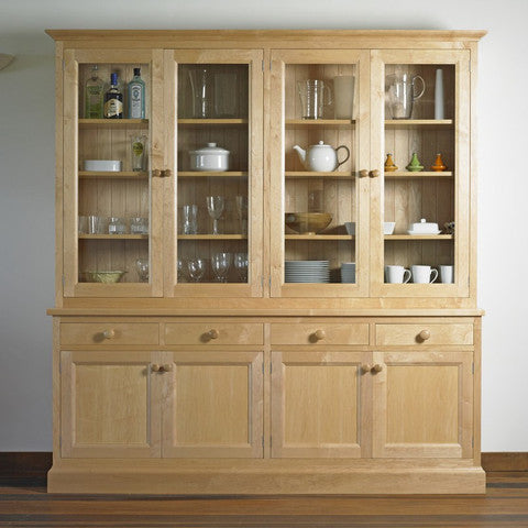 Sussex - English Oak Glazed Dresser
