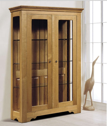 Tuscany Traditional - 2 Door Display Cabinet