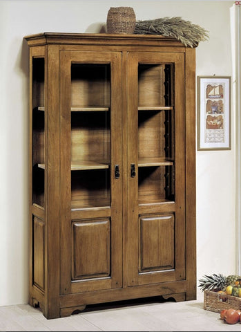 Tuscany Traditional - 2 Door Part Glazed Cabinet