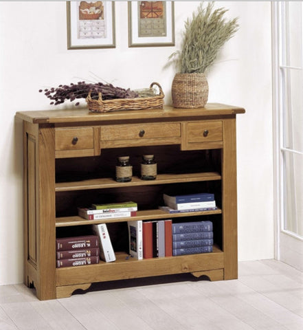 Tuscany - 3 Drawer Open Sideboard