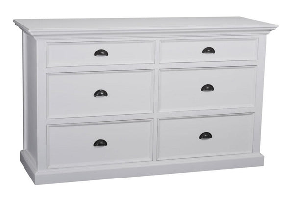 Whitstable Painted - Painted 6 Drawer Chest Of Drawers