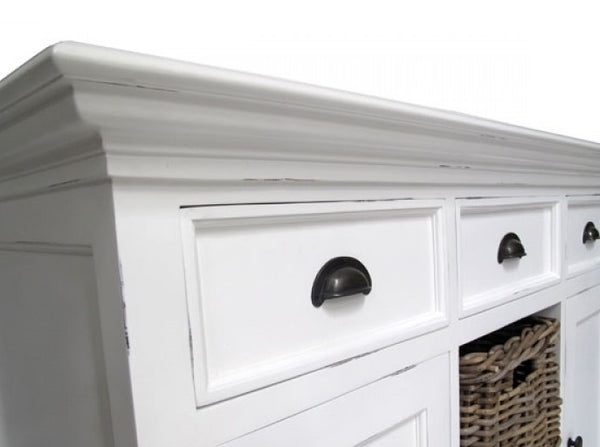 Whitstable Painted - Large 4 Door Sideboard