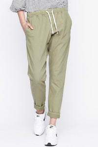I.D.S Lucy Drop Crotch Pant Army Green