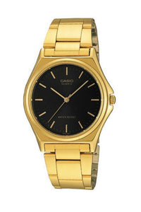 CASIO MTP1130N-1A Gents Vintage Analog Gold x Black