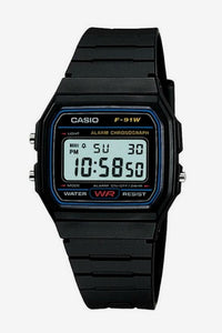 CASIO F91W-1 Gents Vintage Digital Black
