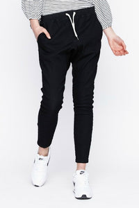 I.D.S Lucy Drop Crotch Pant Black