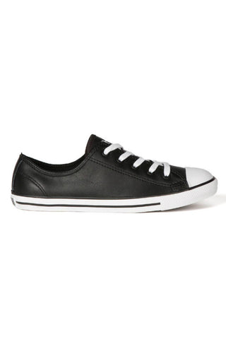 CONVERSE All Star Dainty Black Leather