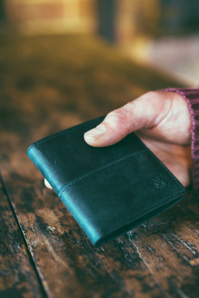 STITCH AND HIDE Bernard Wallet Black