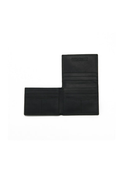 STITCH AND HIDE Hugo Wallet Steele Black