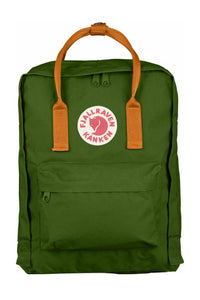 FJALLRAVEN Kanken Original Leaf Green x Burnt Orange