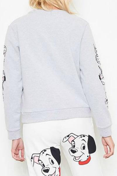 NANA JUDY Disney Take Off Sweater Grey