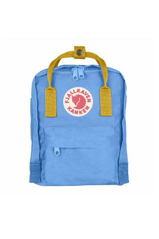 FJALLRAVEN Kanken Mini UN Blue x Warm Yellow