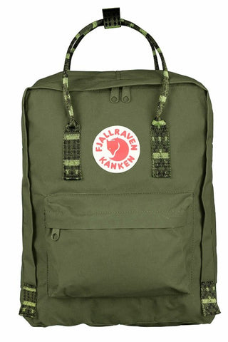 FJALLRAVEN Kanken Original Green x Folk Pattern