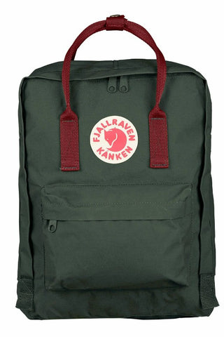 FJALLRAVEN Kanken Original Forest Green x Ox Red