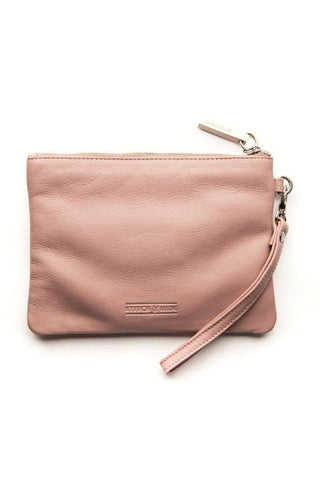 STITCH AND HIDE Cassie Clutch Dusty Rose
