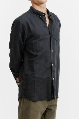 THRILLS CO Century LS Shirt Vintage Black