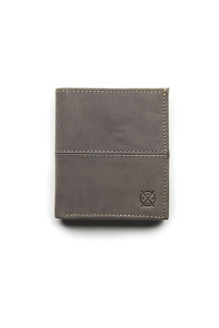 STITCH AND HIDE Bernard Wallet Slate