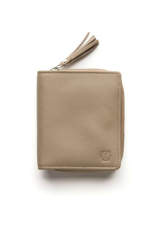 STITCH AND HIDE Mia Wallet Dusty Linen