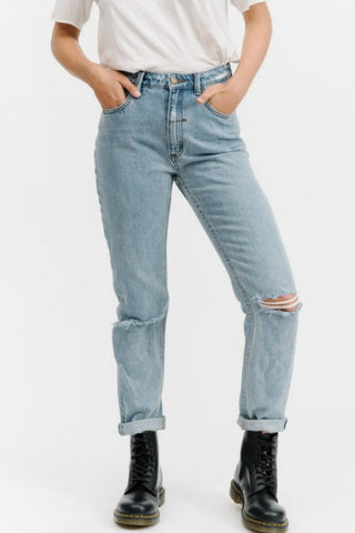THRILLS CO Destroy Thelma Jeans Reckless Blue