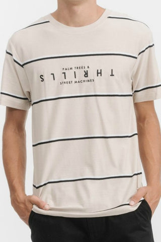 THRILLS CO Wide Stripe Tee