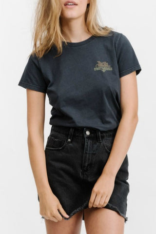 THRILLS CO Phoenix Tee Vintage Black