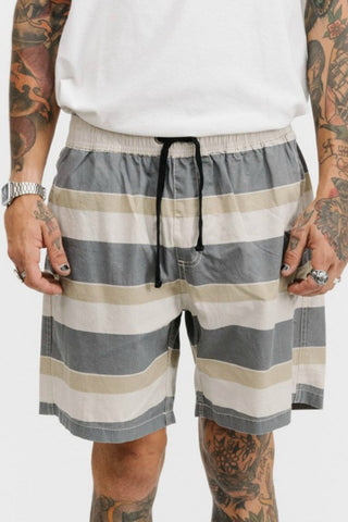 THRILLS CO Sandman Stripe Volley Short