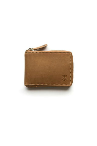 STITCH AND HIDE William Wallet Natural