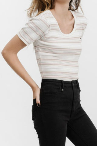 THRILLS CO Topanga Tee Stripe