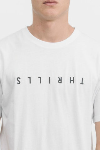 THRILLS CO Classic Tee White