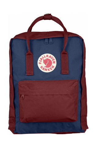 FJALLRAVEN Kanken Original Royal Blue x Ox Red