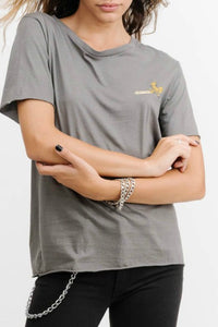 THRILLS CO Route 99 Loose Fit Tee Faded Grey