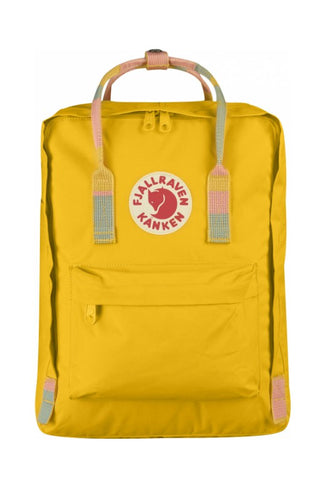 FJALLRAVEN Kanken Original Warm Yellow x Random Blocked