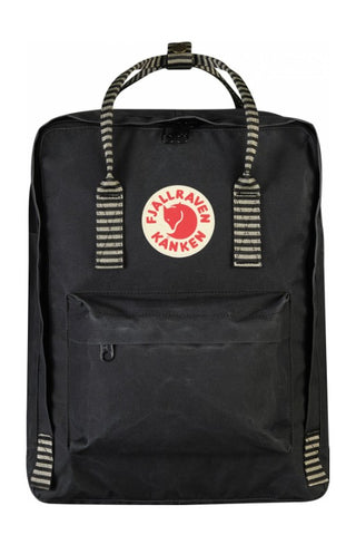 FJALLRAVEN Kanken Original Black x Stripe