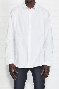 NANA JUDY Whitehall LS Button Up White