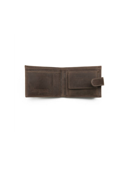 STITCH AND HIDE Ronald Wallet Brown
