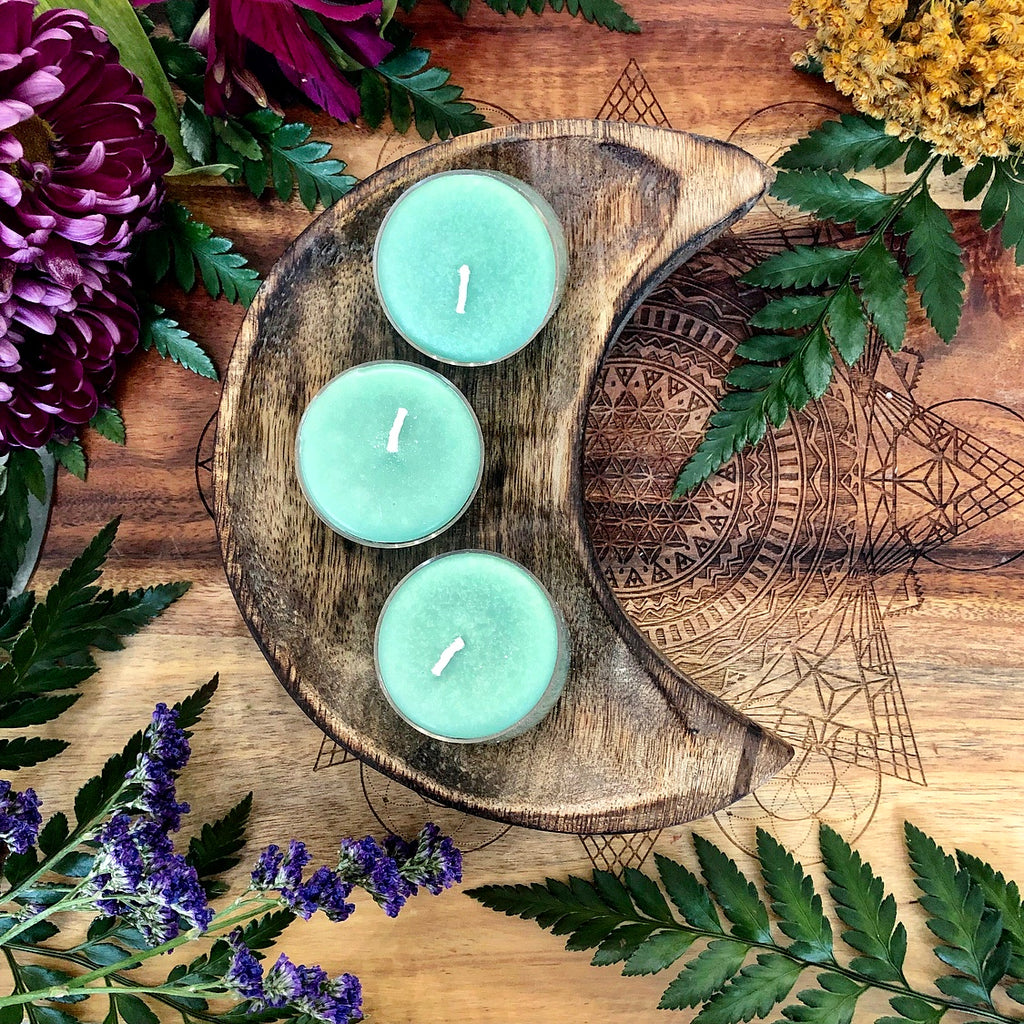 Tealight Candle | Mint Green